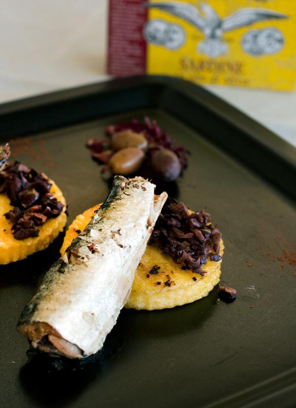 Polenta, taggiasche e sardine Angelo Parodi di Graziella