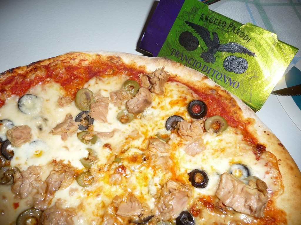 Pizza tonno e olive di Bepppino Bortolon