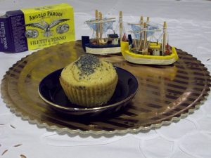 Muffin al Farro con Cuore di Tonno Angelo Parodi e Verdure di Debora, incucinaconziadebby.wordpress.com