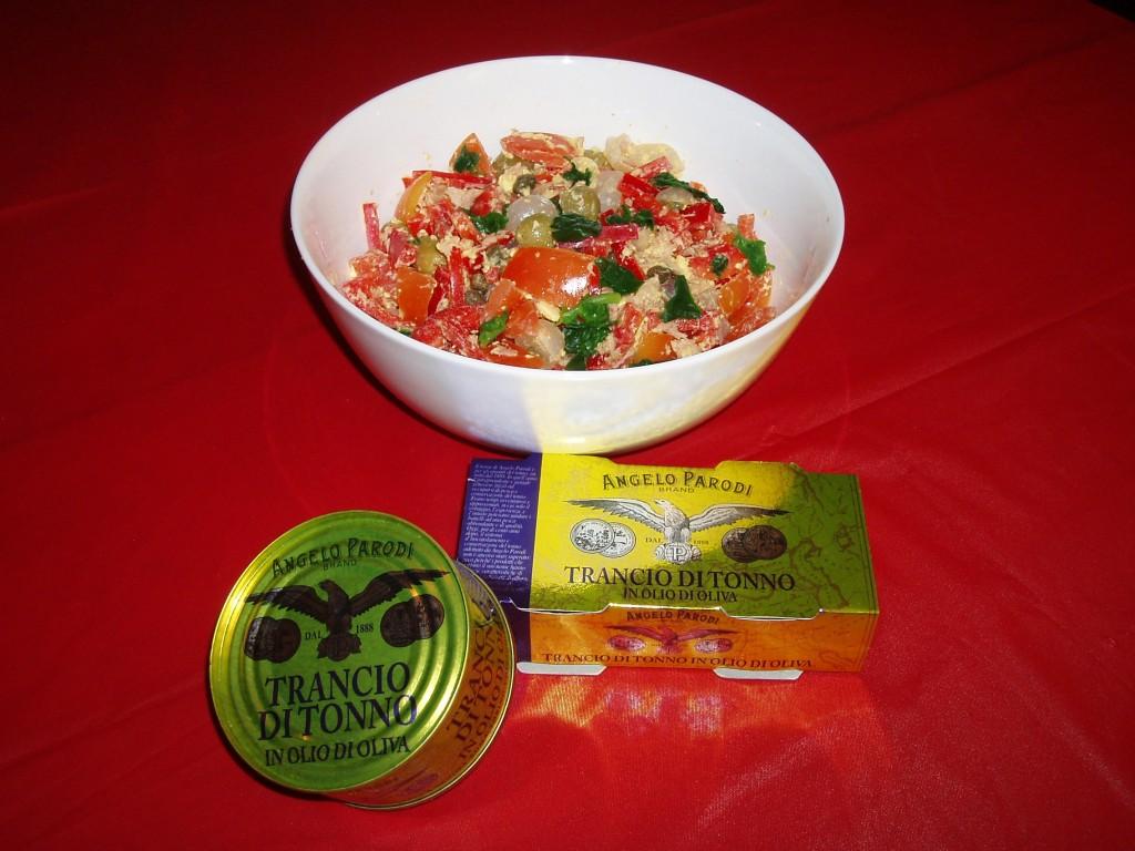 Tonno, verdure e spezie di Francesca Silvestrin