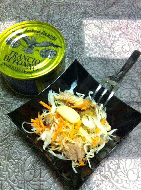 Aperitivo veloce: insalata di tonno Angelo Parodi di Federica Leveratto