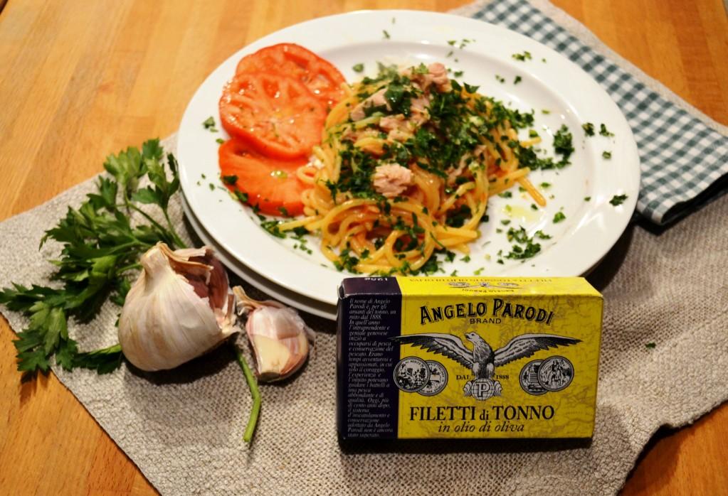 Spaghetti al tonno di Sandra la cucina di Micol