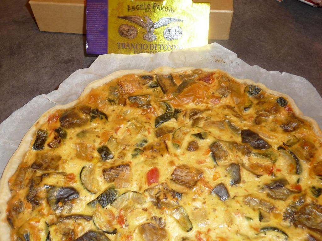 Torta salata a modo mio di Giannino Garbujo