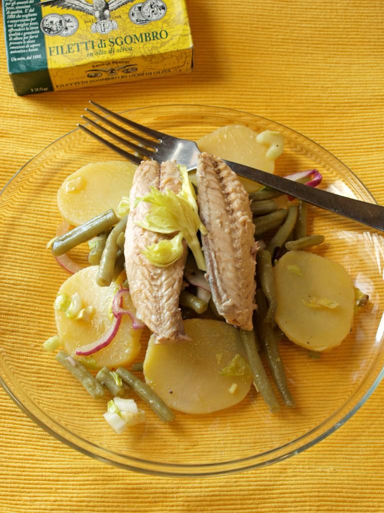Insalatina di sgombro con sedano, patate,fagiolini by Valentina, la Cuoca Pasticciona