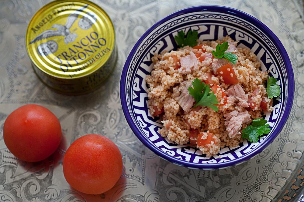 Cous Cous marocchino con tonno e noci di Sonia