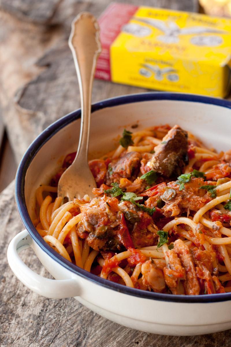 Spaghetti mediterranei di Agostina
