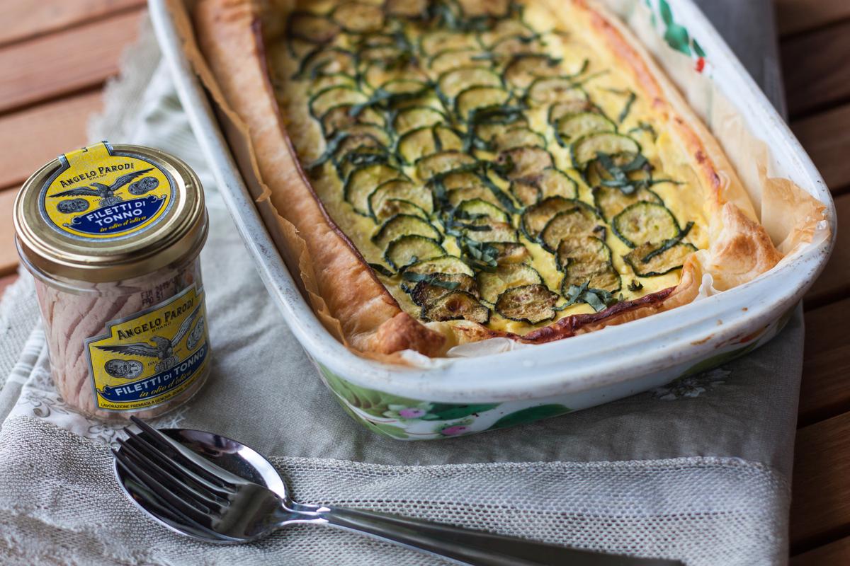 Torta al tonno e zucchine di Chiara