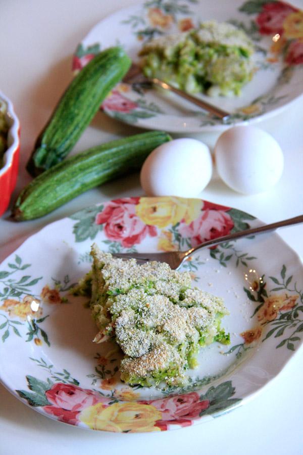Torta di zucchine e filetti di sgombro di Tea