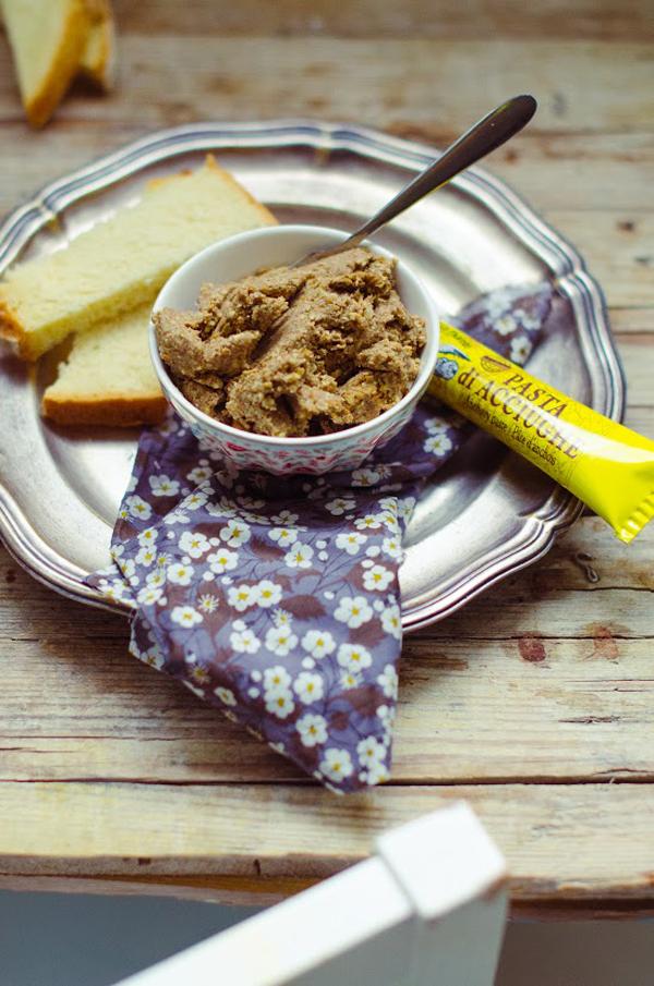 Patè di lenticchie e pasta d'acciughe di Genny