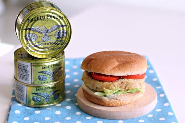 Burger di tonno di Giulia