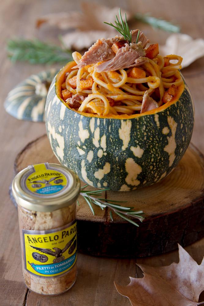 Spaghetti con la zucca