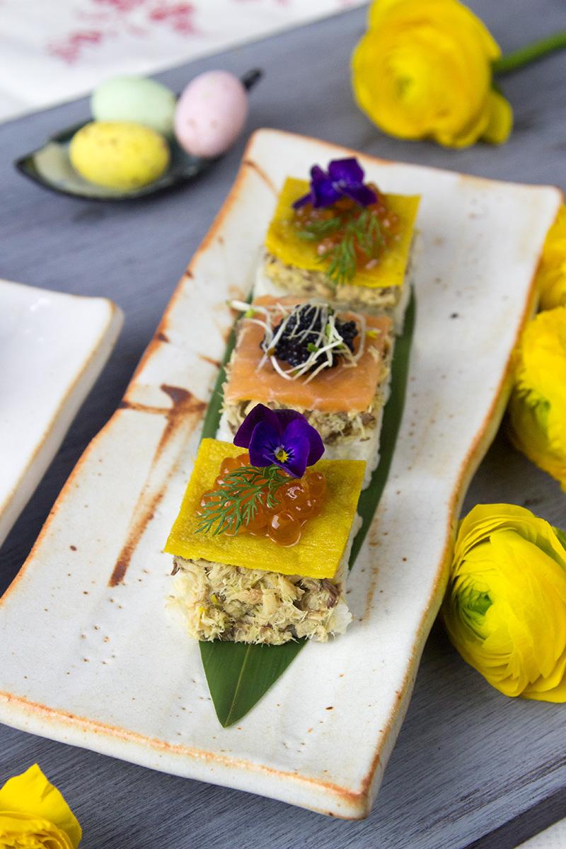 Hako Zushi – sushi di primavera con sgombro Angelo Parodi